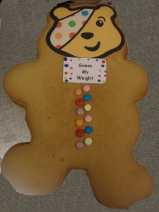 Pudsey Bear Giant Ginger Bread