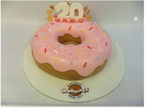 Anniversary - Doughnut Cake