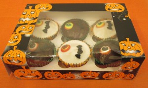Ghoulishly Good Halloween Cupcakes