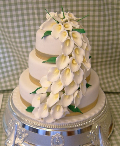 Wedding Cake, Dunn's Bakery