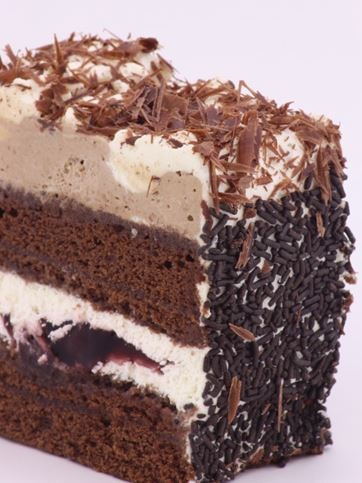 Dunn's Bakery Black Forest Cream Slice