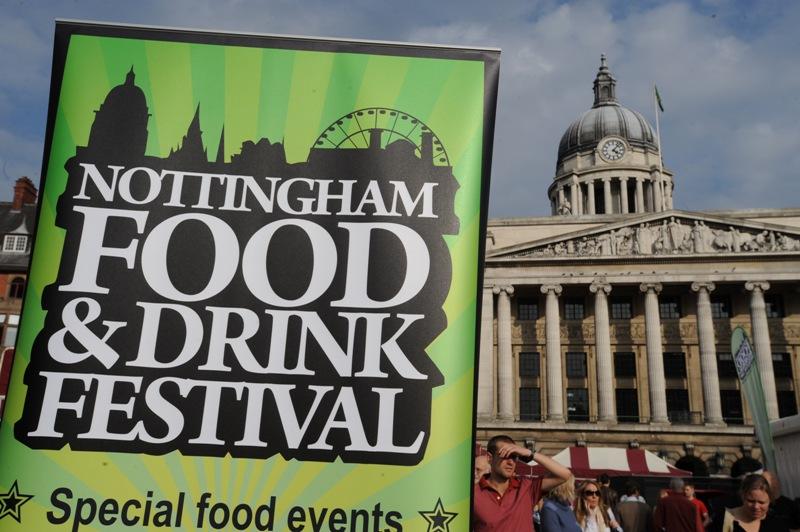 Food Festival Nottingham August
